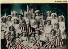 Children in Patriotic Costume   c. 1890-1900