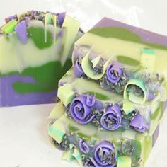 Lavender hand made artisan soap