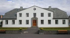 ... Cabinet of Iceland and Prime Minister's Office in Reykjavik