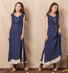 Estate-2015-donne-New-false-due-pezzi-Dress-cotone-lino-senza maniche-Long-Dress-Vest-Retro-Designer (1) (286x309, 106KB)