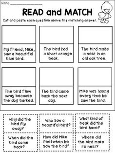 Second Grade Reading Comprehension Activities Reading Centers, Reading Activities, Guided Reading, Free Reading, Reading Rewards, Reading Practice, English Activities, Reading Worksheets, Therapy Activities