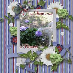 Smell the Flowers Kit: The Little Things by MarieH Designs http://www.plaindigitalwrapper.com/shoppe/product.php?productid=13332&cat=&page=1 Template: Template Mania 14 by MarieH Designs http://www.plaindigitalwrapper.com/shoppe/product.php?productid=13335&cat=&page=1 Font: Mural Script