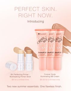 NEW BH Cosmetics Forever Nude Illuminating BB Cream & Perfecting Primer | The Budget Beauty Blog