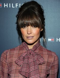bbqngs on oval face | Hairstyles with bangs – The Perfect Bangs for Your Face Shapes | The ...