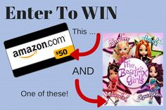 WIN $50 Amazon GC AND an original Beatrix Girls Doll #TheBeatrixGirls  - until 7/17/14 http://madamedeals.com/beatrix-girls-giveaway/ #giveaway #inspireothers