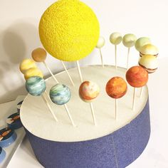 A personal favorite from my Etsy shop https://www.etsy.com/listing/151971464/planet-cake-pops