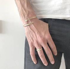 Men Fashion Men Jewelry Bracelet for Him Ring for Men