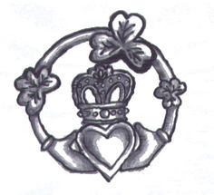 claddagh tattoo design by willothewisp16