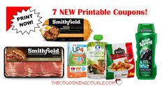 WOW! Print these 7 NEW Printable Coupons with $12.25 in Savings before you go shopping this weekend and before they are gone!  Click the link below to get all of the details ► http://www.thecouponingcouple.com/7-new-printable-coupons-3-9-18/ #Coupons #Couponing #CouponCommunity  Visit us at http://www.thecouponingcouple.com for more great posts!