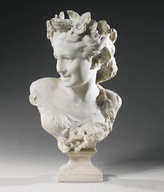 Sculpture Head, Roman Sculpture, Abstract Sculpture, Rennaissance Art, Carpeaux, Anatomy Sculpture, John Everett Millais, Jean Baptiste, Angel Statues