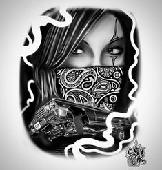 Love Tattoos, Body Art Tattoos, Small Tattoos, Cholo Art, Chicano Art, Dream Catcher Coloring Pages, Day Of Dead Tattoo, Outlaw Tattoo, Lowrider Tattoo