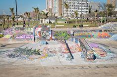 North Beach Skatepark Skater Boys, North Beach, Skate Park, Cute Guys, Skating, Emerald, Graffiti, Africa, Boards