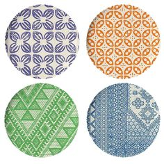 Pretty Outdoor dining gear: Melamine plates by Thomas Paul