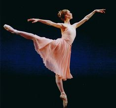 I always wanted to be a ballerina...they're so beautiful and graceful