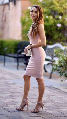 Blush Dress - Hapatime Time