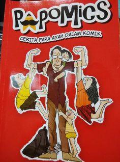 Review Papomics, komik keren tentang kehidupan para ayah