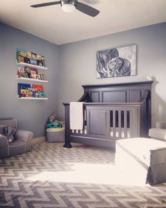 Calm Patient Lazy Gray Sw 6254 Great For Lulling Your Baby Into Sleep Nursery Paint Colorsneutral