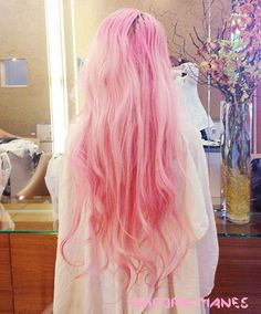 UNICORN Mane 30 Inches Regular Set 100g Silky Remy Hair Extensions ANY COLOR Clip In Pastel Unicorn Hair. $250.00, via Etsy.