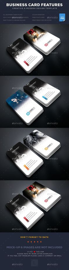 Photography Business Card - Business Cards Print Templates Download here : https://graphicriver.net/item/photography-business-card/19120968?s_rank=173&ref=Al-fatih