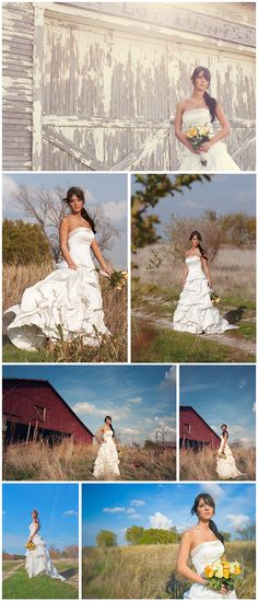country bridals