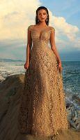 Tarik Ediz - 93739 Floral Lace Illusion Neck A-line Dress Designer Formal Dresses, Formal Dresses For Women, Formal Evening Dresses, Formal Gowns, Evening Gowns, Strapless Dress Formal, Glamorous Dresses, Stunning Dresses, Terani Dresses