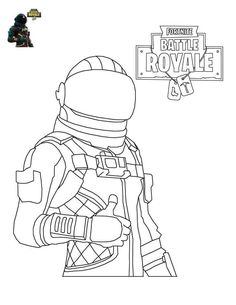 Fortnite Battle Royale Colouring Pages Dark Voyager