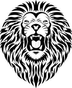 lion mouth vector - Google Search