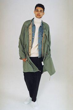 Journal Standard 2016 Fall/Winter Lookbook Layered Looks Coats Peacoats Flannels Japan Andersen-Andersen J.S Homestead