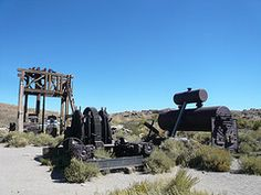 Bodie, California (jericl cat) Tags: california park abandoned monument town weeds state time ghost historic mining equipment western bodie dust nhm timewarp scattered 395 outdoormuseum