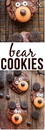nice Bear Cookies
