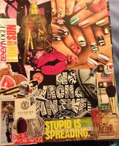 Collage Ideas, Concept Board, My Mood, Collages, Fashion Beauty, Magazine, Collagen, Collage, Magazines