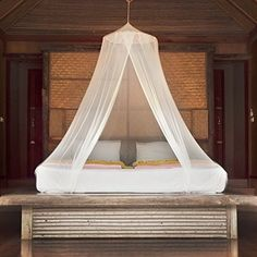 Mosquito Net Canopy Zipper Curtain   Large Bug Barrier Circular Netting for Hammocks Outdoor Spaces u0026 Double Beds   Travel Carry Pouch and Hangingu2026 & Mosquito Net Canopy Zipper Curtain   Large Bug Barrier Circular ...