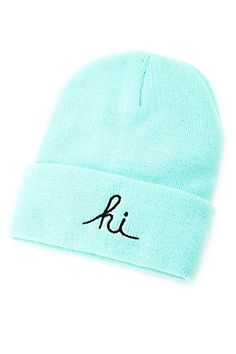 30 Beanies You'll Want To Wear Every. Single. Day. #refinery29  http://www.refinery29.com/best-beanies-for-fall#slide28