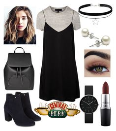 """Rachel Green Vibes"" by awisha216 ❤ liked on Polyvore featuring Monsoon, MAC Cosmetics and Newgate"