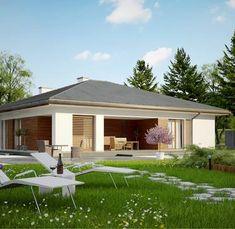 Z321 to wyjątkowy dom z kategorii projekty domów parterowych Gazebo, 1, Outdoor Structures, Outdoor Decor, Home Decor, Houses, Projects, Kiosk, Decoration Home