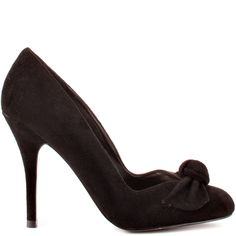 Kissani heels Black Suede brand heels Guess Shoes