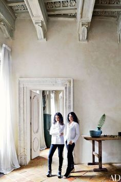 Musicians Katia And Marielle Labèque S Home Studio In Rome