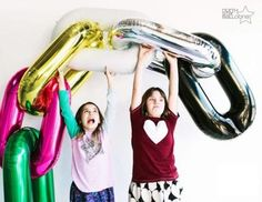 Deco Link Foil Silver Balloon 86cm