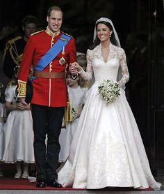 Prince William and Catherine Middleton, the Duke and Duchess of Cambridge
