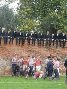 The Wall Game @ Eton College. School Boy, Sunday School, Posh English, Boarding School Aesthetic, Prep Boys, Henley Royal Regatta, Wall Game, Writing Pictures, Ivy Style