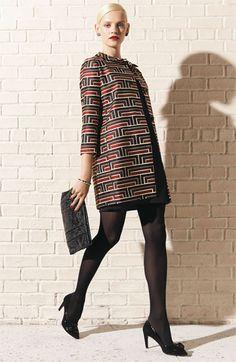 keep warm in style  kate spade new york coat & sheath dress | Nordstrom