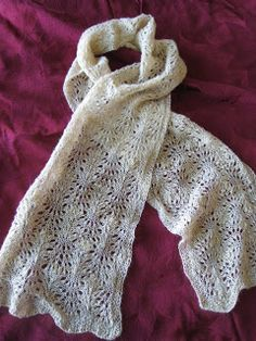A Little Yarn On The Side: Ostrich Plume Scarf