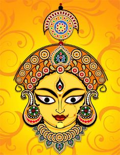 Goddess parvati is regarded as the power of Lord Shiva and alike Lord Shiva… Durga Painting, Kerala Mural Painting, Indian Art Paintings, Durga Maa Paintings, Madhubani Art, Madhubani Painting, Mandala Drawing, Mandala Art, Maa Durga Photo