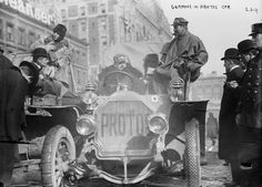 In 1908, racers attempted to drive from New York to Paris in the dead of winter. It got complicated.