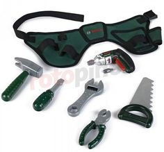 Jeu d'imitation ceinture à outils Bosch http://www.rotopino.fr/jeu-d-imitation-ceinture-a-outils-bosch,58556 #jouet #jeu #enfant #rotopino #bosch