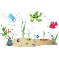 sea life color scheme - Google Search