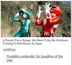 And another former (red) ranger killed his roommate with a sword and sentenced to 6 years in prison Dankest Memes, Funny Memes, Hilarious, Funny Quotes, Geeks, Funny Pins, Funny Stuff, Random Stuff, Quotes