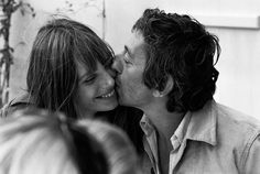 lovely. Serge Gainsbourg and Jane Birkin