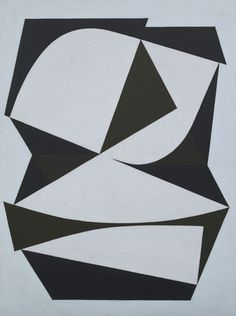 """Yllam  Victor Vasarely (French, 1908–1997)    1949-52. Oil on canvas, 51 3/8 x 38 1/4"""" (130.3 x 97.2 cm). Blanchette Hooker Rockefeller Fund. © 2012 Artists Rights Society (ARS), New York / ADAGP, Paris    280.1958"""