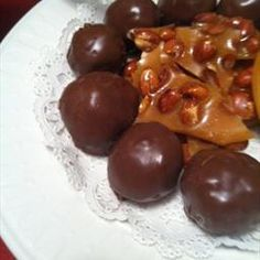 Peanut Butter Crispy Balls on BigOven: Our family loves these!